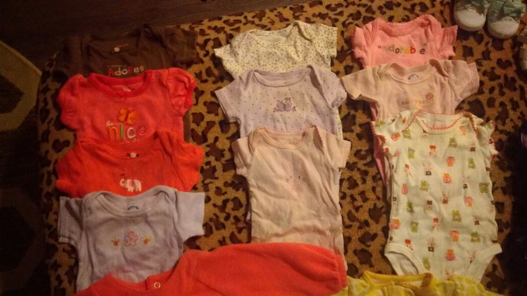 Nb-6-9months baby girl clothes and more