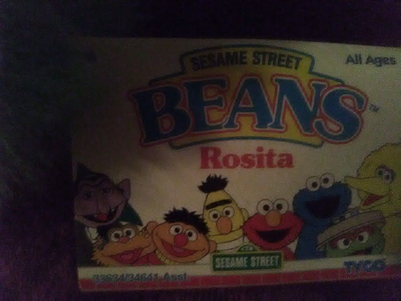 Tyco Beanie Beans From Sesame Street
