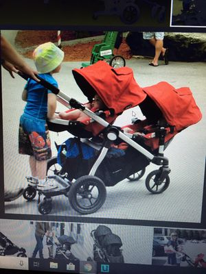 Fabulous Baby Jogger City Select Double Stroller WITH Strollerboard (Great Condition) for Sale in Rockville, MD
