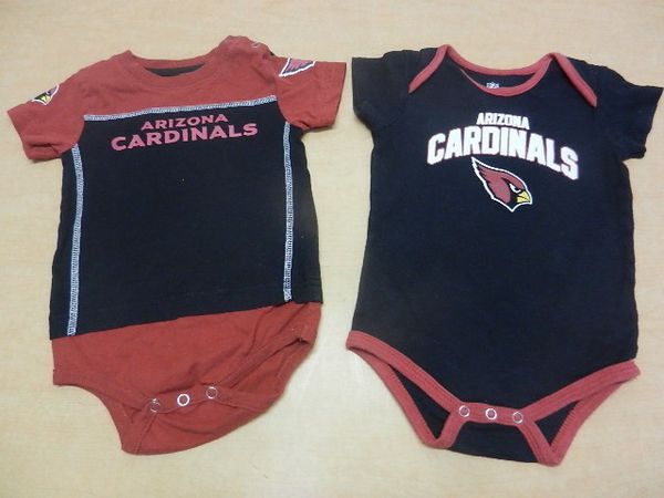 18 months Arizona Cardinals Baby Creeper Onsie Outfits for Sale in