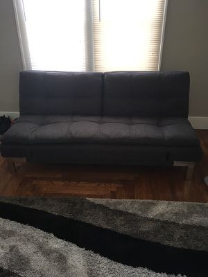 Athletic Grey Futon Couch For In Cincinnati Oh