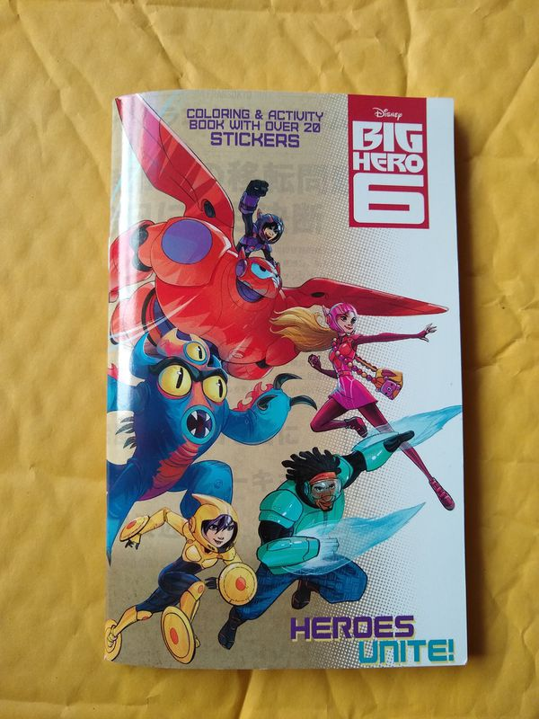 Disneys Big Hero 6 Mini Coloring Book For Sale In Fountain Valley CA
