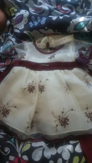 Vestido de 0/6 meses dress from 0/6 months old for Sale in Washington, DC