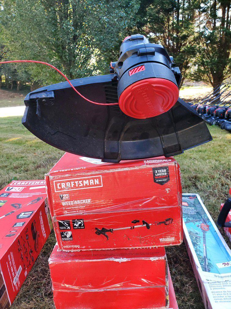 Craftman Battery Operated Weedwacker