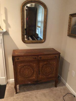 19th century Italian inlay cabinet for Sale in Atlanta, GA