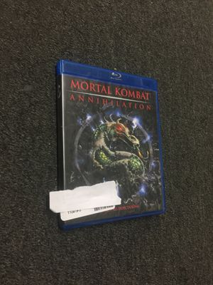 Mortal Kombat Annihilation blu Ray for Sale in Washington, DC