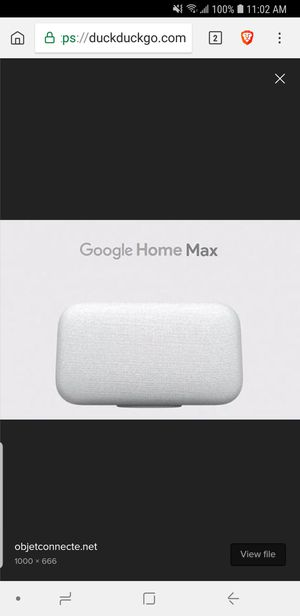 Google Home Max for Sale in Odenton, MD