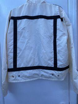 White Biker Look-a-like Jacket Thumbnail