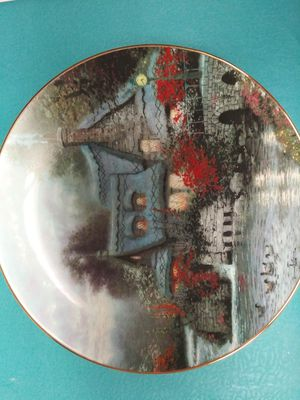 Photo In the Limited Edition of  Olde Thomashire Mill Second Issue in Thomas Kinkade's. Plate #7064B / Bradex #S4 - K41 - 142.2