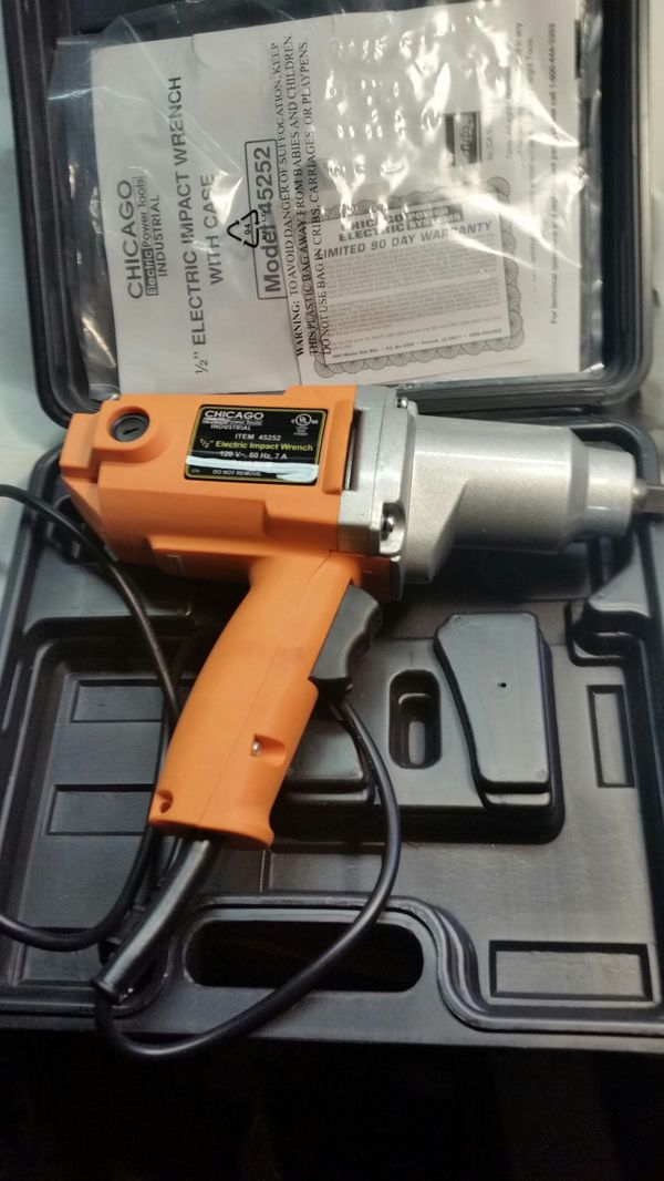 Never Used Chicago Electric 1 2in Impact Wrench