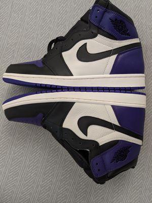 Jordan 1 Court Purple size 11 for Sale in Washington, DC