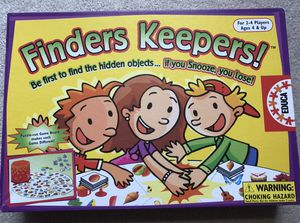 Finders Keepers kids game for Sale in Monroeville, PA