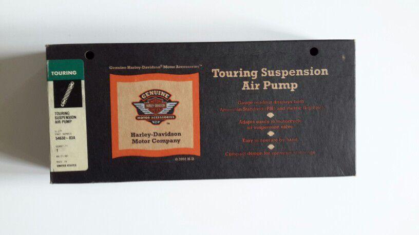 Photo Harley Davidson Touring Suspension Air Pump