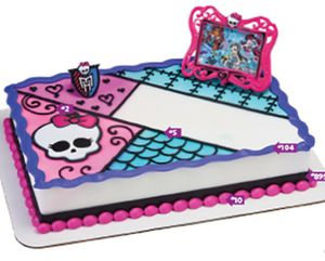 Monster high cake topper decopac for Sale in Boston, MA
