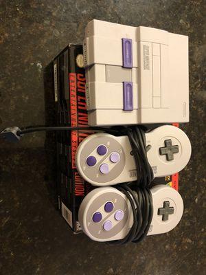 Super Nintendo Classic Edition for Sale in Alexandria, VA