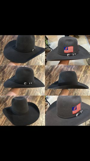 American hats resistol hats Larry mahan cowboy hats Stetson Justin twister  western for Sale in Fort Worth 3a5aa4ccd44