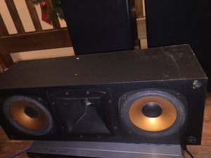 Surround sound system Harmon/Kardon with large cerwin Vega speakers including a great center Chanel. $150 for all for Sale in Riverview, FL