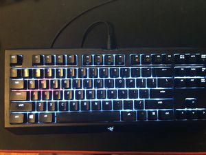 Razer black widow chroma v2 tournament edition. Mechanical gaming keyboard. for Sale in Los Angeles, CA