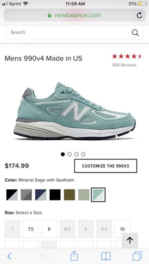 New balance 990v4 for Sale in Forest Heights, MD