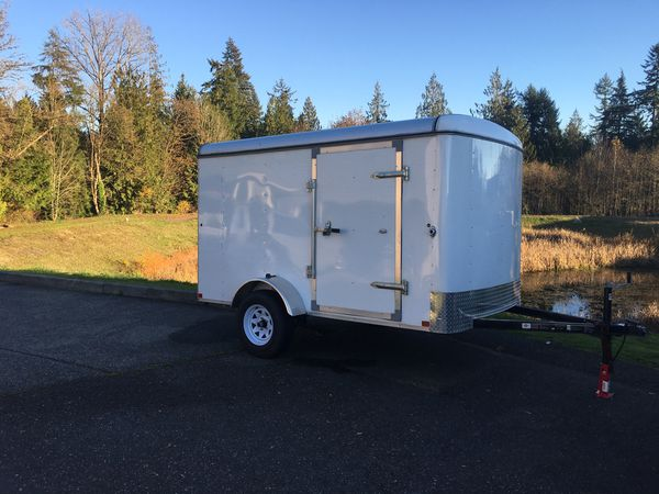 Travel Trailers For Sale Puyallup Wa >> 10x6 cargo trailer for Sale in Monroe, WA - OfferUp