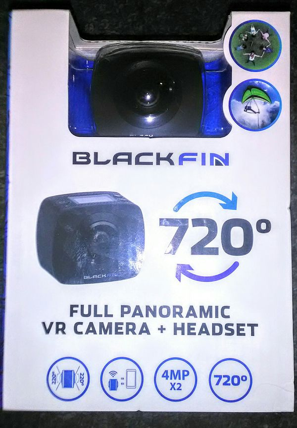 Blackfin 720° Full Panoramic VR Camera + Headset (NEW) for Sale in Dallas,  TX - OfferUp