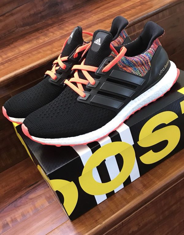 0dc719e5fc79c Mi Adidas Ultra Boost 2.0 Rainbow BY1756 Size 10 NO TRADES!! LOWBALLERS  IGNORED!!
