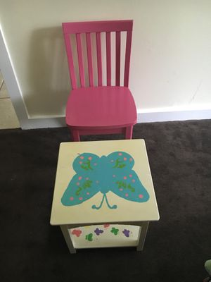 Kid's table and chair for Sale in Germantown, MD