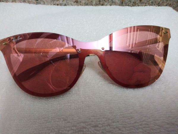 7b3c8fb745941 Ray-Ban 3580 N 043 E4 43 brushed gold pink mirror sunglasses Authentic for  Sale in Kansas City