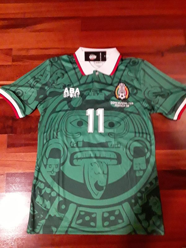 ee75856fb Mexico soccer Jersey retro 1998 world cup for Sale in Renton