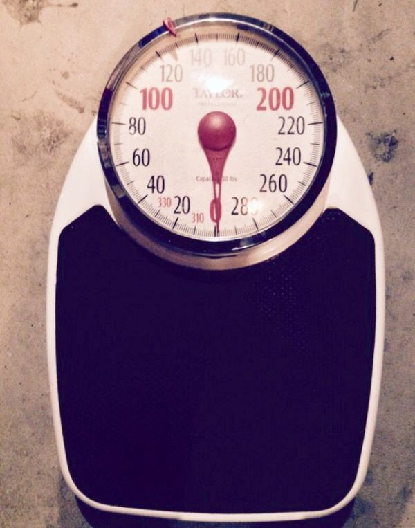 Heavy Duty Vintage Bathroom Scale For