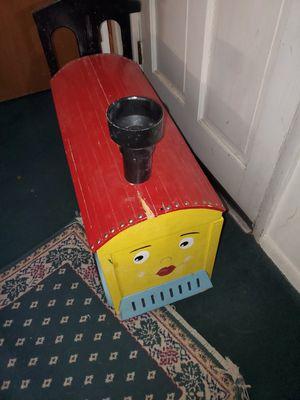 Photo Train toy Box