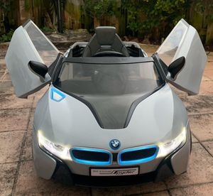 Photo Power wheels, ride on toys, toy car, baby car, toddlers Electric kids car BMW i8