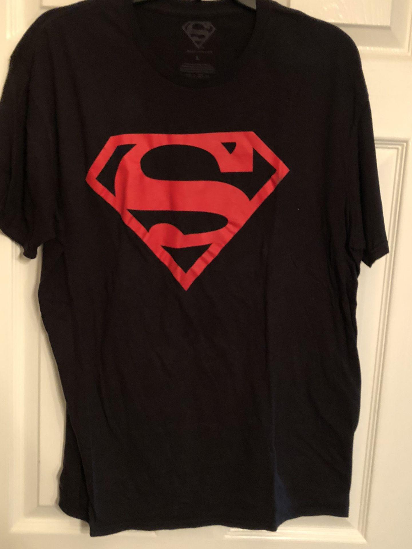 Superman Men's Shirt Size L