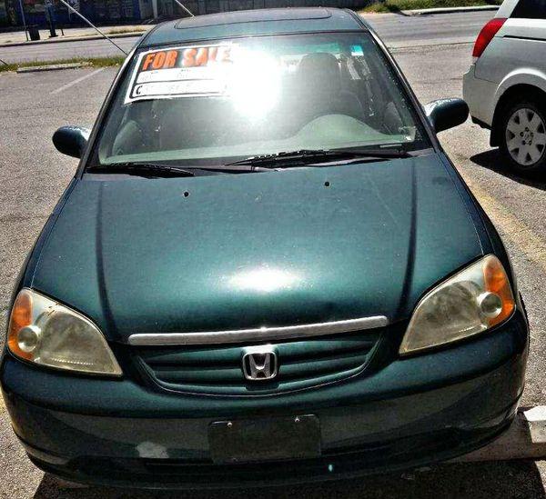 2001 Honda Civic Runs Good For Sale In San Antonio, TX