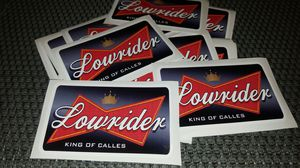 Lowrider King of Calles sticker for Sale in West Covina, CA