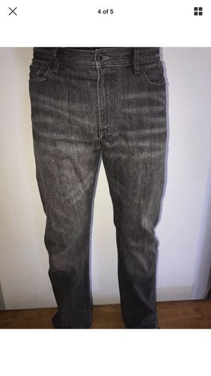 John Varvatos Grey Jeans size 34 for Sale in Austin, TX