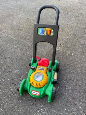 Photo Little Tikes Toy Gas and Go Lawn Mower