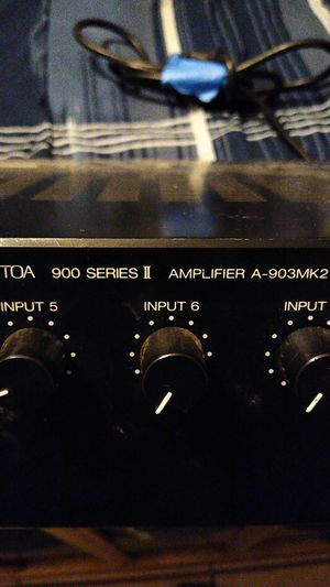 Photo TOA 900 series2 amplifier A-903MK2