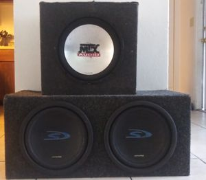Alpine speaker set - mtx audio speaker for Sale in Azalea Park, FL