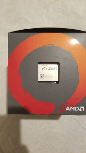 AMD Ryzen 7 2700 Processor with Wraith Spire Led Cooler for Sale in Culver City, CA
