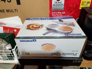 Pizzelle Chef Pizzelle Iron for Sale for $20 for Sale in Olney, MD