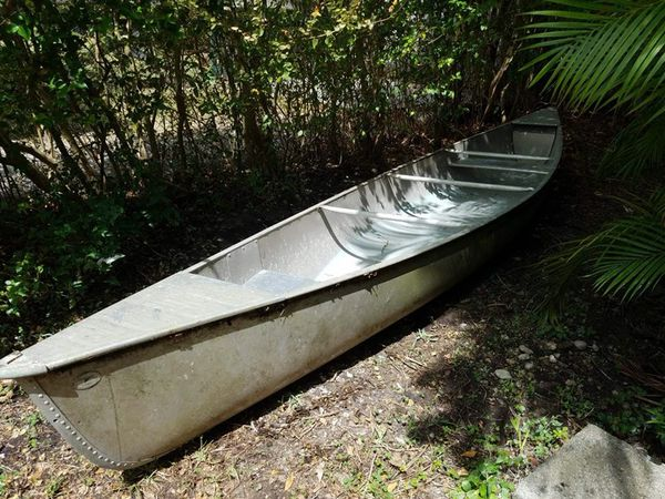 Grumman Eagle 17 foot all aluminum canoe for Sale in Miami, FL - OfferUp