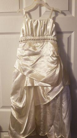 Shari Girl size 6 flower girl Dress Thumbnail