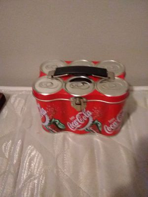 Coca-Cola Coke can six-pack lunchbox for Sale in Lincoln Park, MI