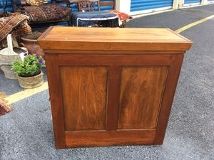 19th Century Antique American Wall Cabinet for Sale in Midlothian, VA