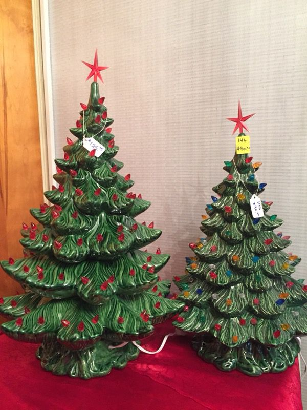 Ceramic Christmas Trees For Sale In Gaffney Sc Offerup