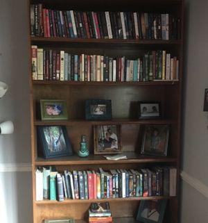 Solid oak bookshelves 2 for Sale in Falls Church, VA