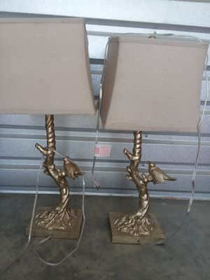 Lamp set. Have others too for Sale in Suffolk, VA