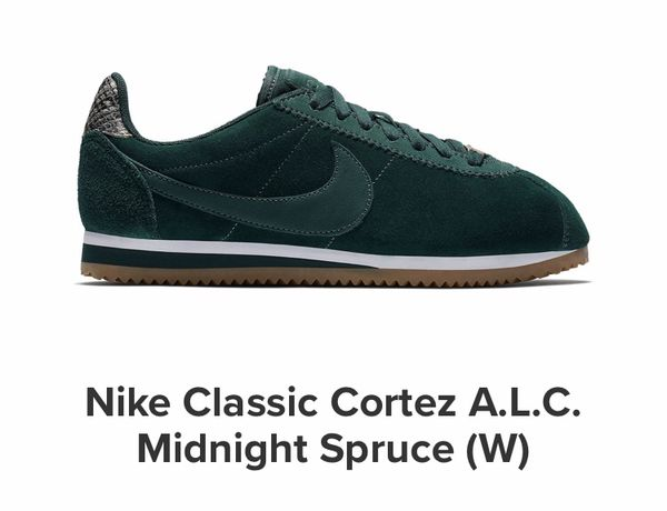 the best attitude 22026 be5de WMNS 8.5 NIKE X A.L.C MIDNIGHT SPRUCE CORTEZ for Sale in Long Beach, CA -  OfferUp