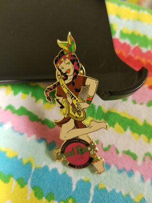 Hard Rock Cafe Limited Edition Pin: Austin; Indian Girl w/ sax for Sale in Allentown, PA